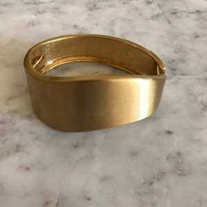 3/$25 SALE Gold Cuff Bangle Bracelet
